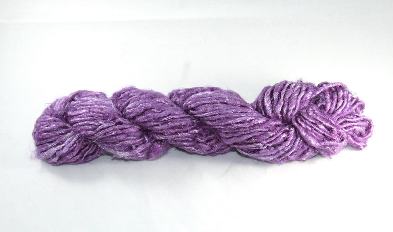Banana Silk Yarn- Dark Lavender
