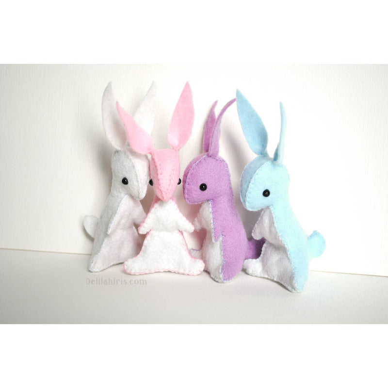DelilahIris Designs - Felt Bunny Sewing Kit