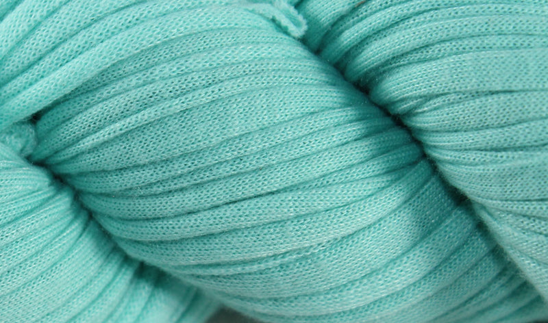 Recycled T-Shirt Yarn- Light Teal