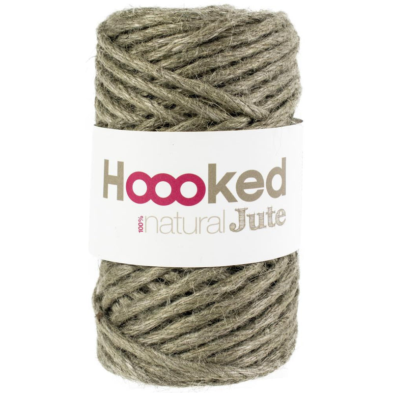 Hoooked Natural Jute Yarn - Super Chunky - Twine for Macrame