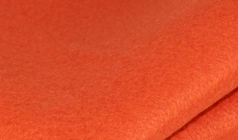 Bamboo and Rayon Eco Felt - Fat Quarter - Coral Reef
