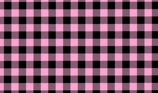 Pink Buffalo Plaid Pattern Heat Transfer Vinyl and Carrier Sheet
