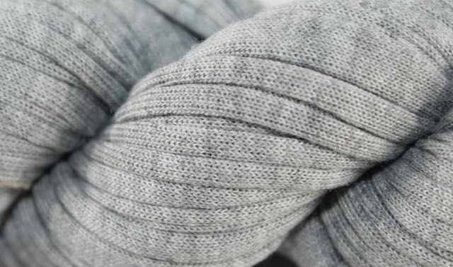 Recycled T-Shirt Yarn- Gray