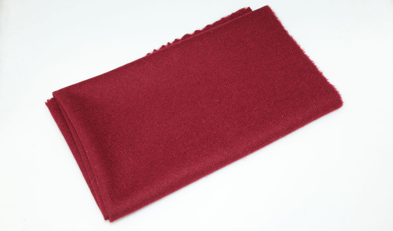 Dorr Wool Fabric - Fat Quarter - Maroon