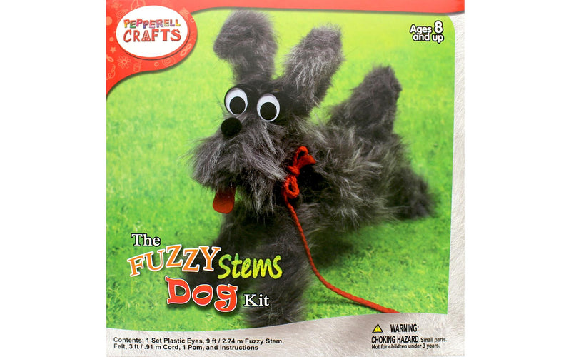 Fuzzy Stem Animal- Dog
