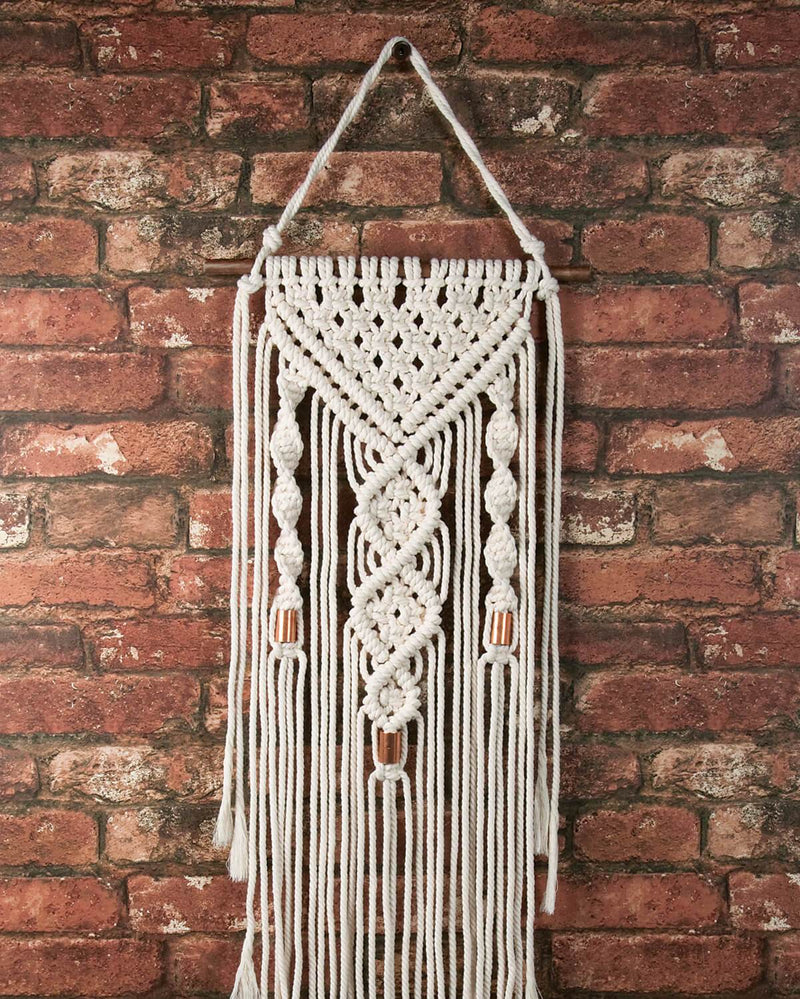 Solid Oak's Make-ramé™ Kit - Double Twist Macrame Kit