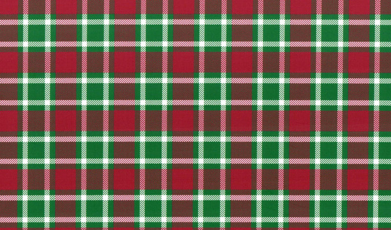 Christmas Plaid Pattern Heat Transfer Vinyl and Carrier Sheet