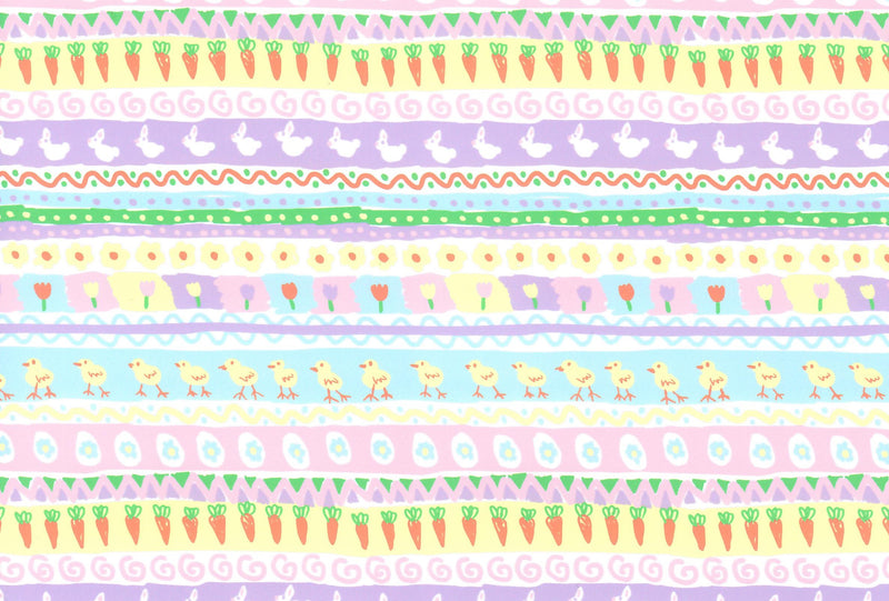 Easter Egg Parade Pattern Heat Transfer Vinyl and Carrier Sheet - Easter HTV