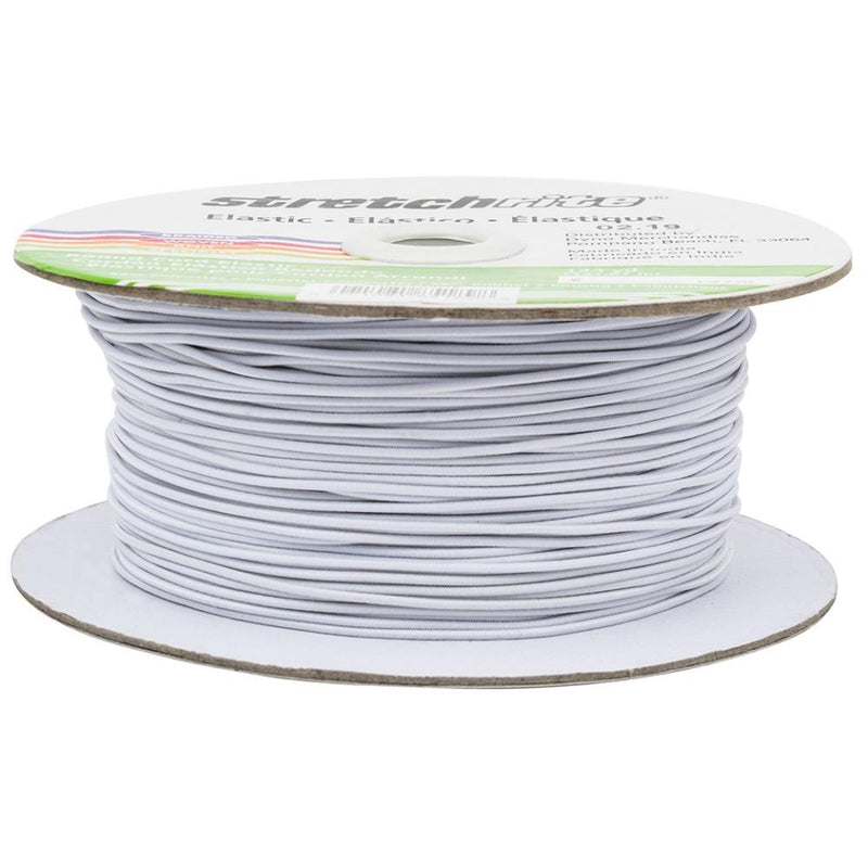 5 Yards of White Singer Elastic Cord for Face Masks