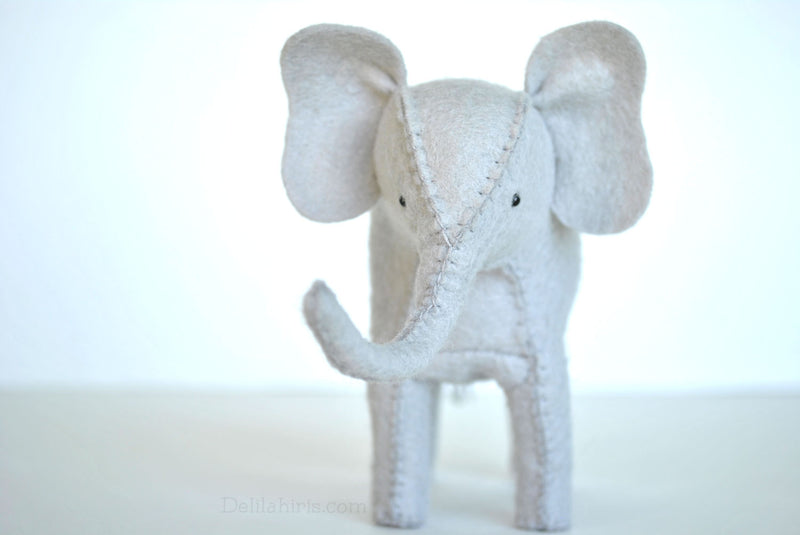 Felt Elephant Hand Sewing Kit