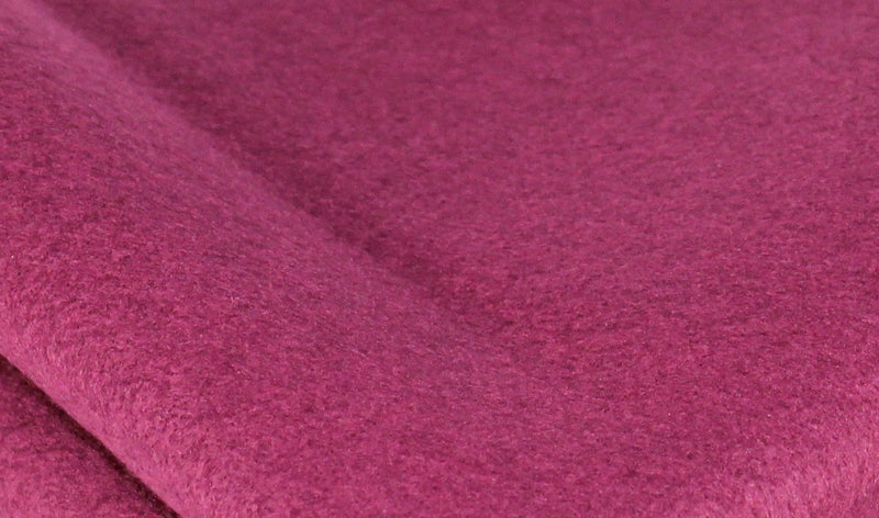 Bamboo and Rayon Eco Felt - Pomegranate
