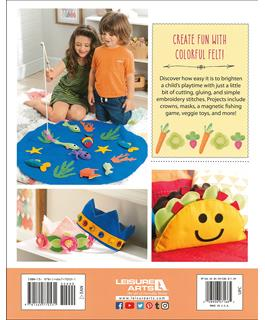 Leisure Arts Kids' Felt Cuties Book