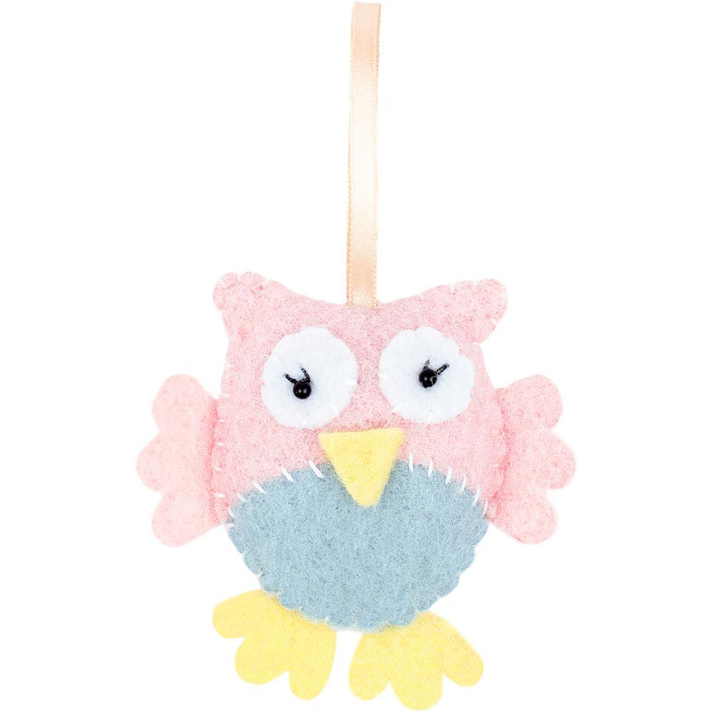 Fabric Editions Needle Creations Felt Kit- Owl