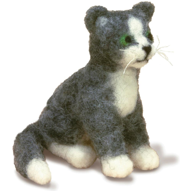 Dimensions Feltworks Needle Felting Kit- Cat