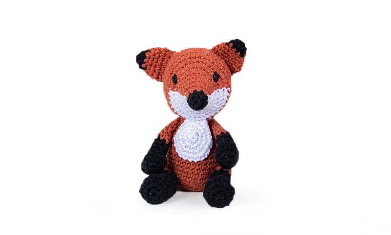 Fergie Fox Hoooked Yarn Kit with Eco Barbante Yarn