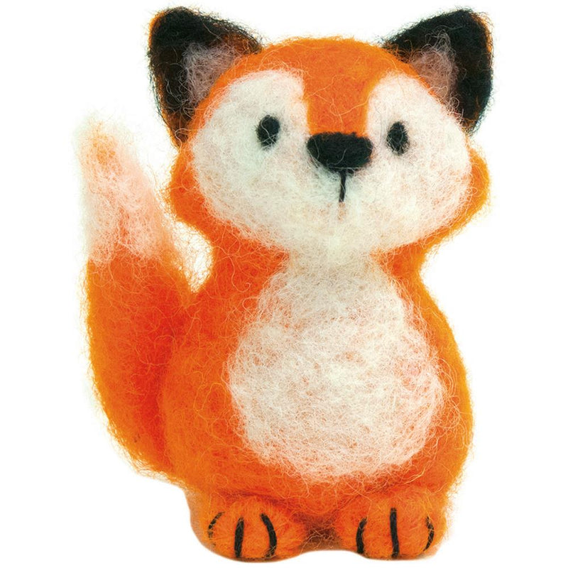 Dimensions Needle Felting Kit- Fox