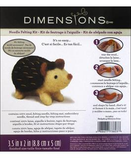 Dimensions Needle Felting Kit- Hedgehog