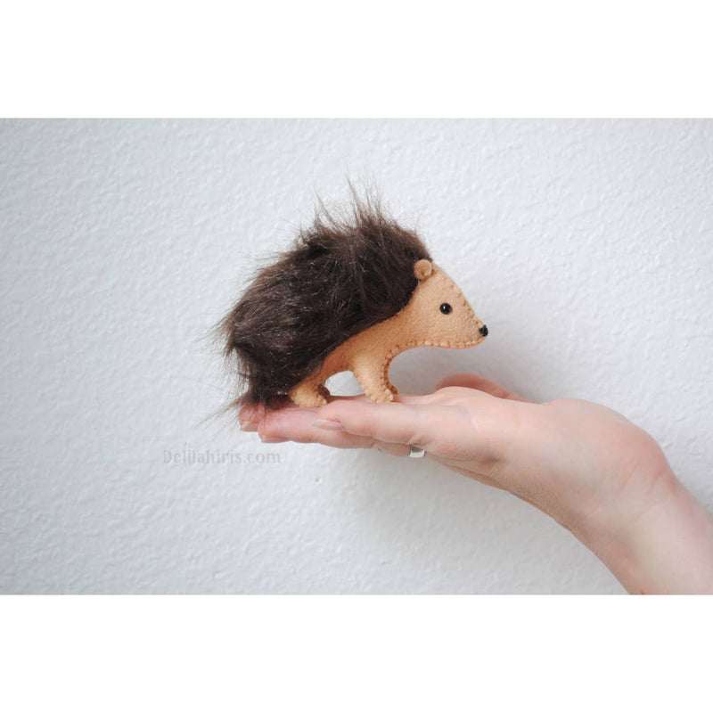 Felt Hedgehog Hand Sewing Kit
