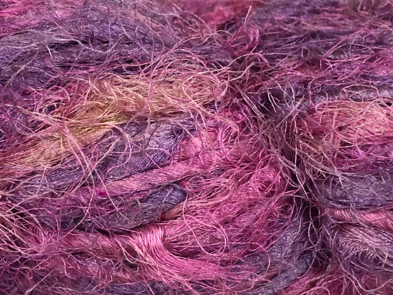 Recycled Sari Silk Yarn - Lovely