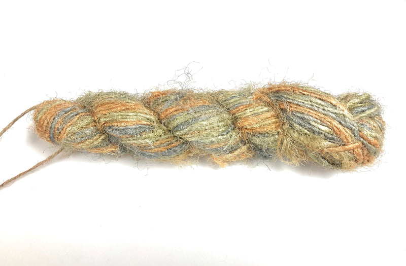 Recycled Sari Silk Yarn - Sherbet