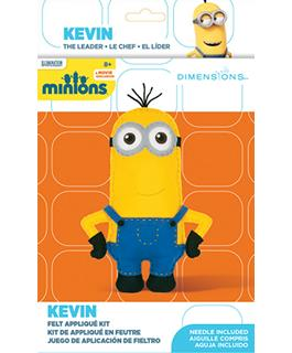 Dimensions Applique Craft Kit for Kids - Minions Kevin