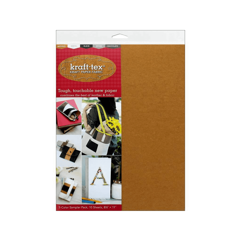 Kraft-Tex Kraft Paper Fabric - 5 Color Sampler Pack