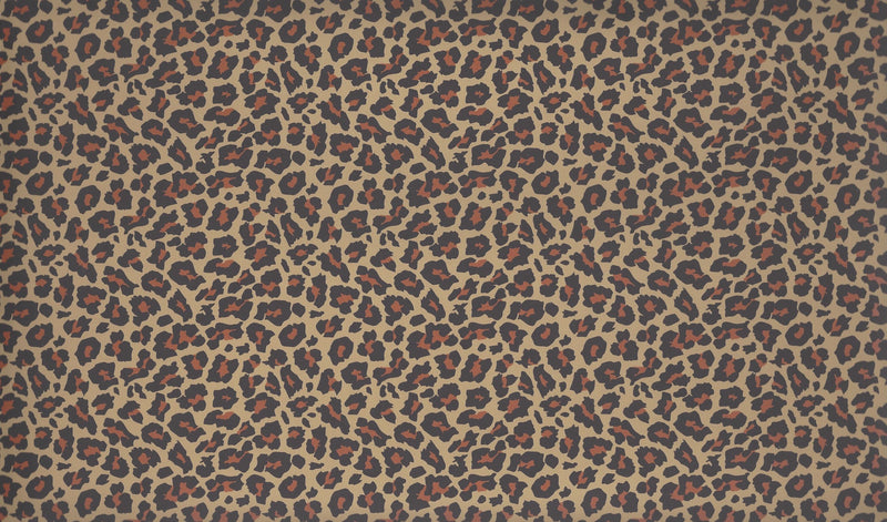 Leopard Print Pattern Heat Transfer Vinyl and Carrier Sheet