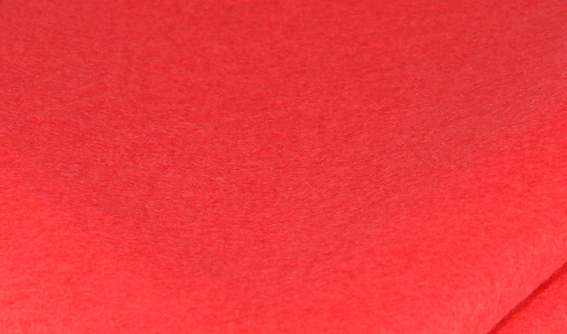 Bamboo and Rayon Eco Felt - Fat Quarter - Macaw Red