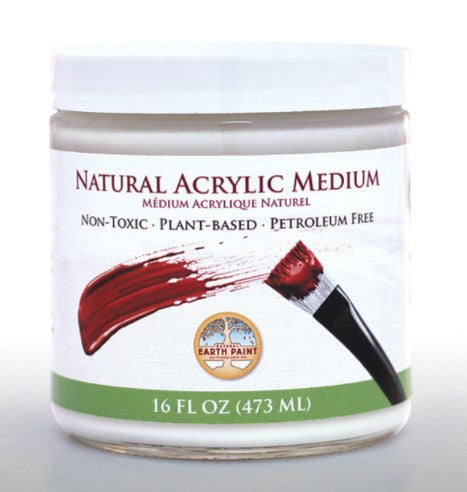 Natural Acrylic Medium (Clear) 16oz.