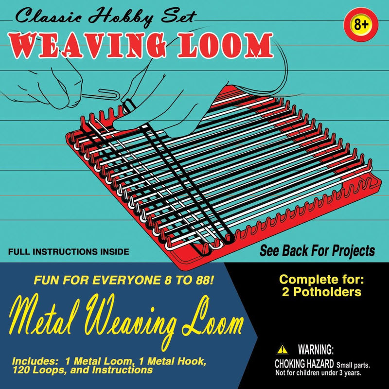 Pepperell Retro Metal Weaving Loom