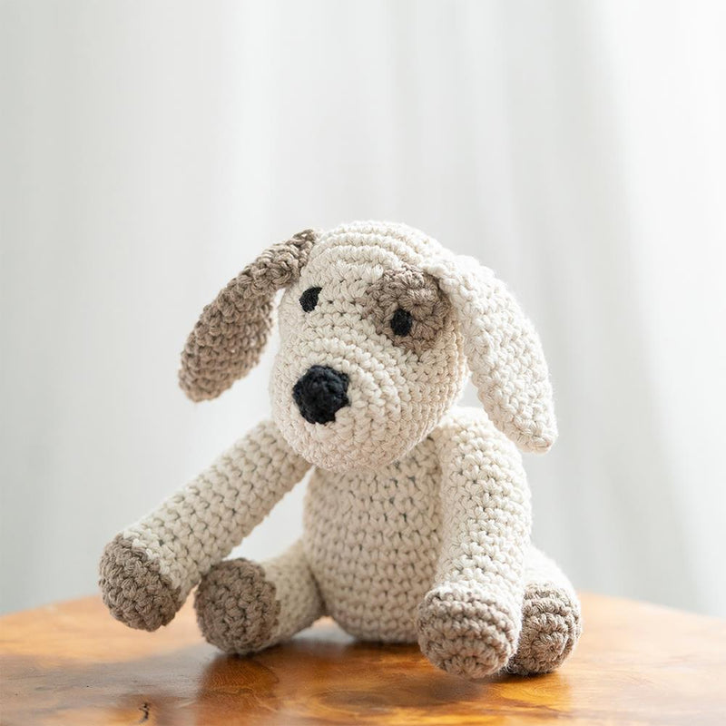 Hoooked Puppy Millie Yarn Kit with Eco Barbante Yarn