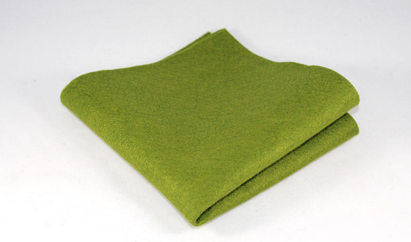 Bamboo and Rayon Eco Felt - Fat Quarter - Moss