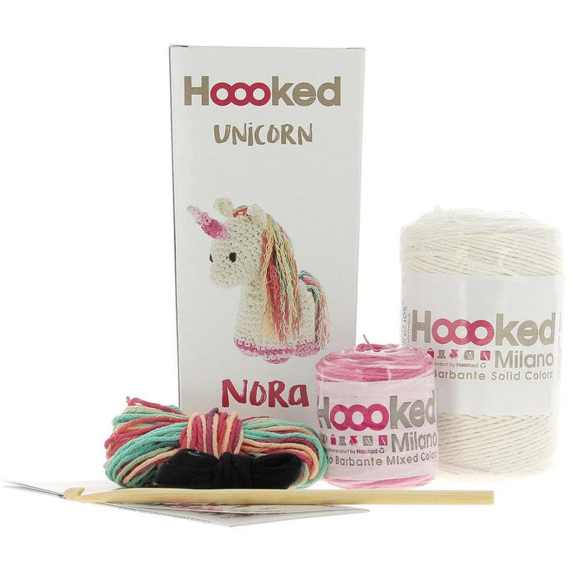 Hoooked Unicorn Nora Yarn Kit with Eco Barbante Yarn
