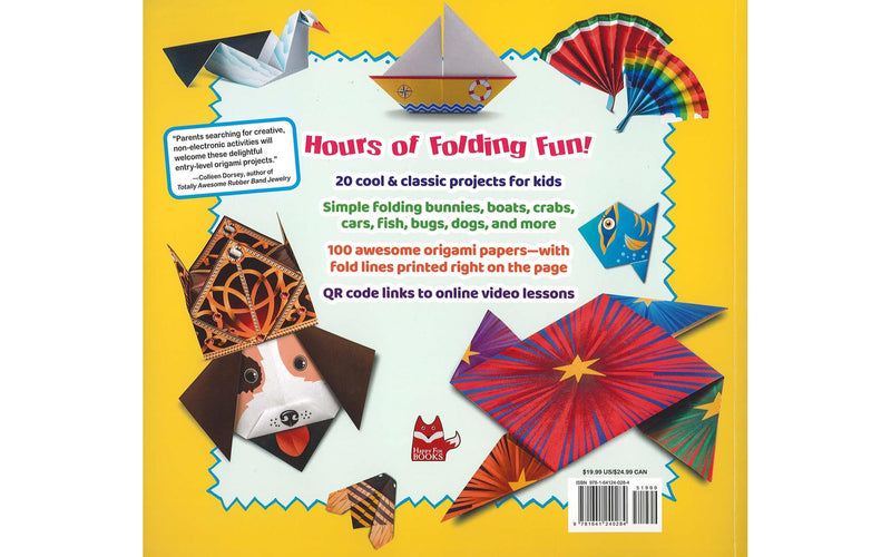 Happy Fox Origami For Kids Book
