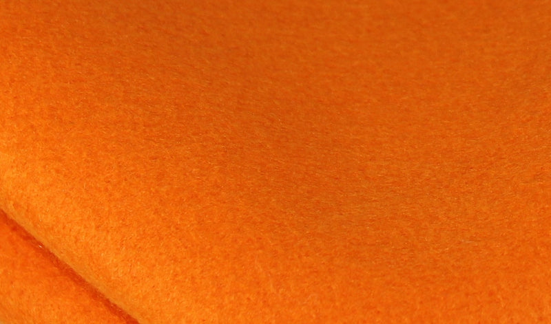 Bamboo and Rayon Eco Felt - Fat Quarter - Papaya