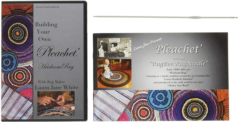 Pleachét Rug Needle, How-To Booklet and Instructional DVD