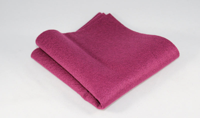 Bamboo and Rayon Eco Felt - Fat Quarter - Pomegranate