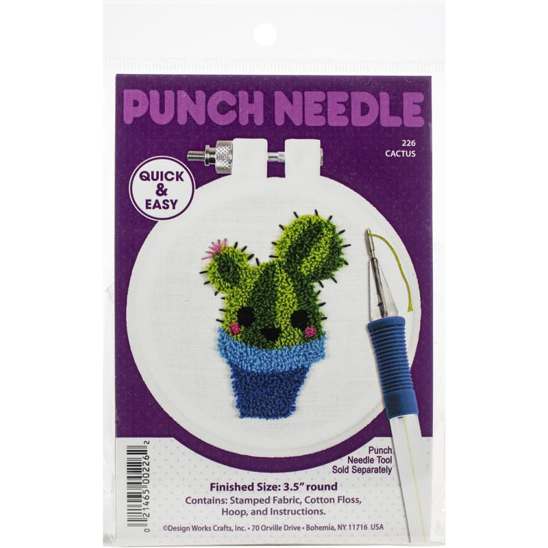 Dimensions Punch Needle Kit - Cactus