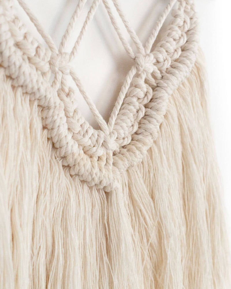 Solid Oak Make-ramé™ Mini Kit - Fringe Macrame Kit