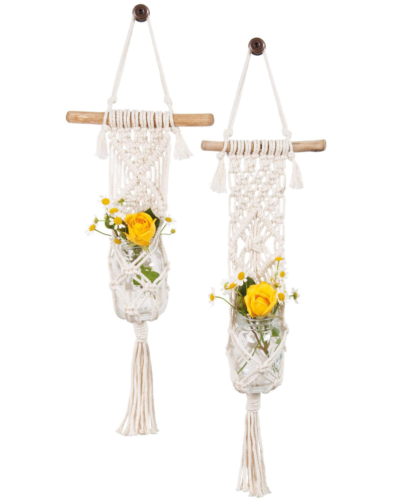 Macramé Plant Hanger Kit - Two Minis - by Solid Oak