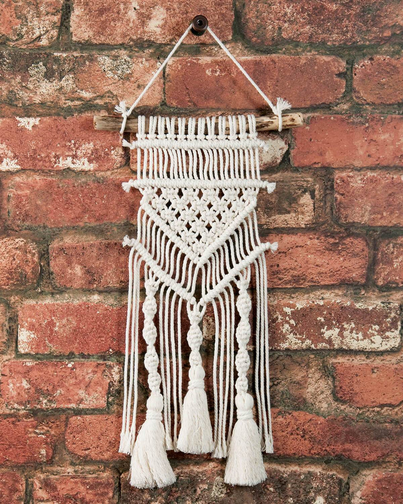 Solid Oak Make-ramé™ Mini Kit - Tassels and Twists Macrame Kit
