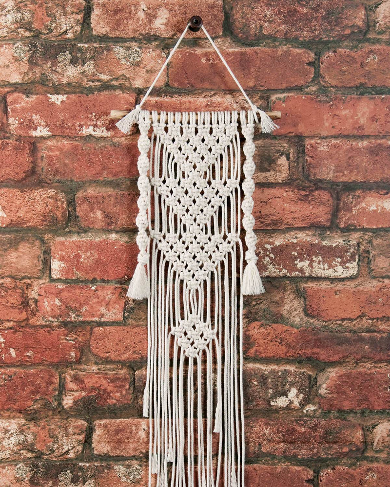 Solid Oak Make-ramé™ Mini Kit - Three Triangle Macrame Kit