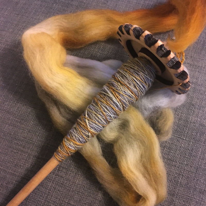 Intro to Spindling - DIY Yarn!
