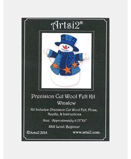 Artsi2 Precision Cut Wool Felt Craft Kit - Winslow