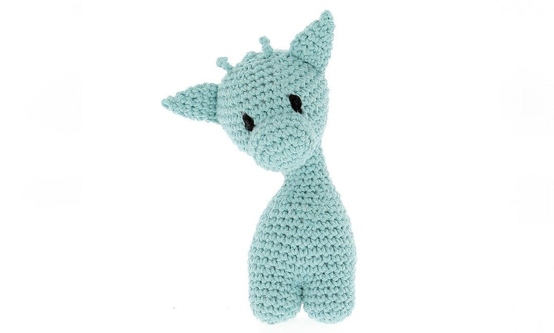 Hoooked Mint Ziggy Giraffe Yarn Kit with Eco Barbante Yarn