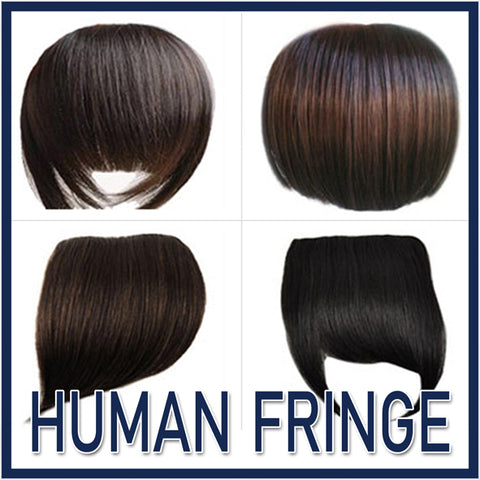 Human Hair Fringes
