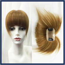 Mono Top Human Hair Fringe, Even Cut