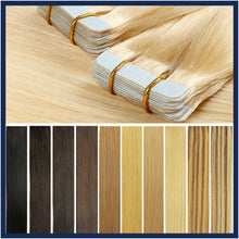 "Skin Tape Remy Human Hair Extensions, 20"", 40 pcs"