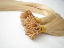 "Micro Bead I Tip Human Hair Extensions, 22"", 100 strands"