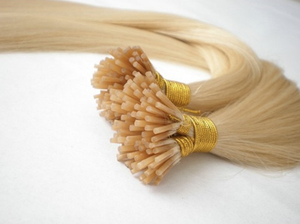 "Micro Bead I Tip Human Hair Extensions, 20"", 100 strands"